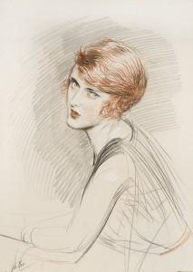 Dibujo a las tres tizas, dibujo trois crayons, metodo giotto, cursos de dibujo y pintura , Paul Helleu 1