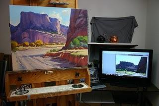 Cómo pintar paisaje spartiendo de fotografías