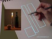 <strong>2 </strong>Ve de lo sencillo a lo complejo: empieza  dibujando formas geométricas simples.