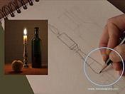 <strong>5 </strong>Dibuja toda la composición completa. No   dejes partes sin hacer.
