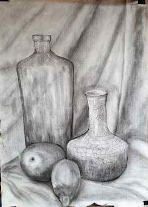 3 Dibuja un bodegón al claroscuro