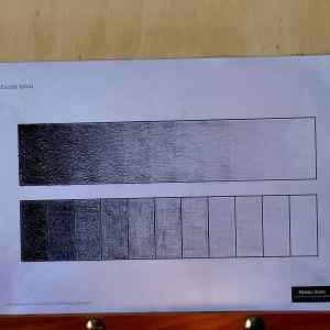 1 Dibuja la escala tonal
