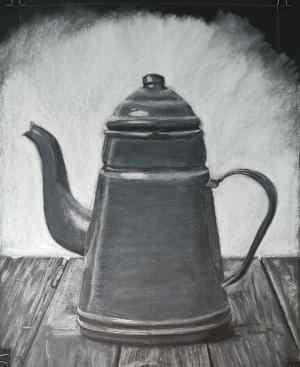 8 Dibujo con tiza blanca sobre negro