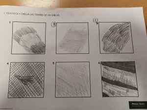 2 Identifica y dibuja las tramas de un dibujo
